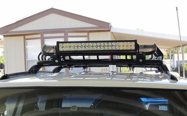 Светодиодные балки для внедорожников. Варианты установки и разновидности