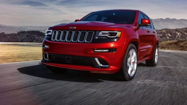 Jeep Grand Cherokee SRT Hellcat появится в конце 2017