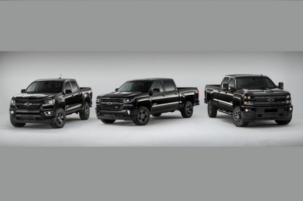 Chevrolet Silverado, Colorado Midnight Edition обновятся до 2016 года