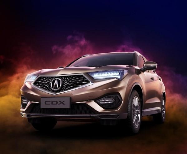 Acura CDX — первый кроссовер марки китайского производства