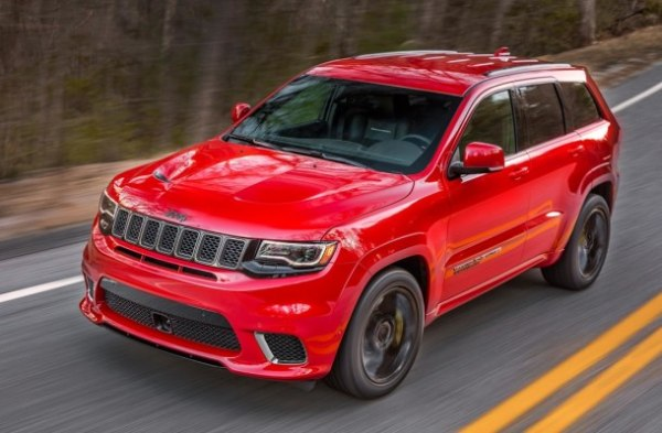 Jeep Grand Cherokee Trackhawk оценили в $85 900