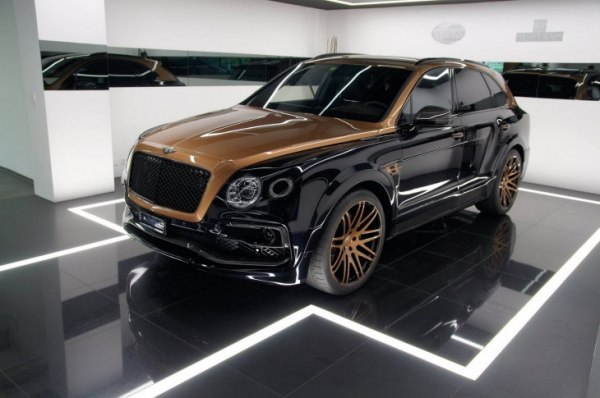Bentley Bentayga Exclusive Shadow Gold от Startech