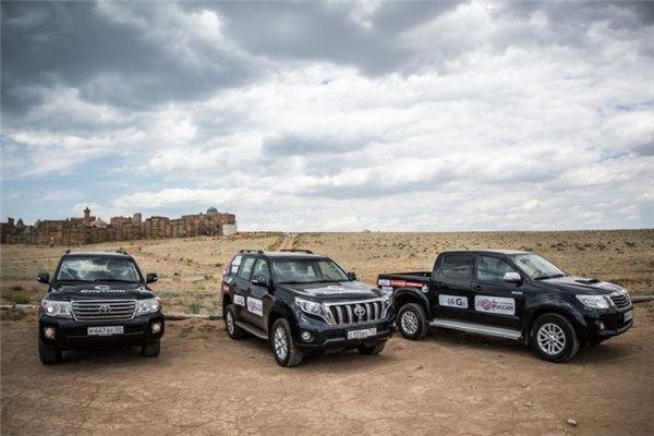 Внедорожники Тойота пользуются большой популярностью на российском авторынке
