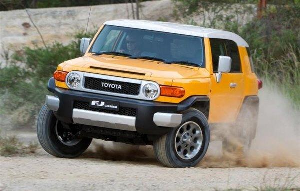 Многие находят FJ Cruiser самым стильным внедорожником фирмы Тойота